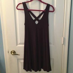 American Eagle Outfitters Dark Purple Dress